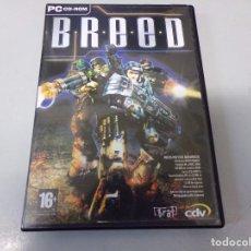 Videojuegos y Consolas: BREED + GUIA RAPIDA Y MANUAL. Lote 270646753