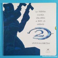 Videojuegos y Consolas: CD PRESENTACION HALO 2 XBOX PARA PC (DEMO JUGABLE+VIDEOCLIP+TEMAS BSO+VIDEOS+WALLPAPERS..) MICROSOFT. Lote 271053193