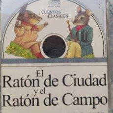 Videojuegos y Consolas: CD CUENTOS CLASICOS, EL RATON DE CIUDAD Y EL RATON DE CAMPO. Lote 271568408
