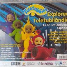 Videojuegos y Consolas: CD-ROM EXPLOREU TELETUBIES, EN CATALA. Lote 271569058
