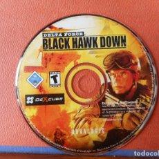 Videojuegos y Consolas: DELTA FORCE BLACK HAWK DOWN. NOVALOGIC. CD-ROM. Lote 274536558