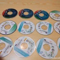 Videojuegos y Consolas: C-VANS LOTE DE PC CDROM DE FORMACION CONTINUA LOS DE FOTO. Lote 275330573