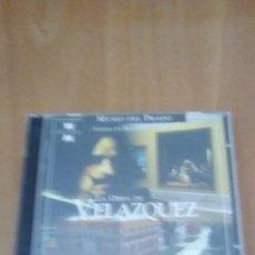 Videojuegos y Consolas: LA OBRA DE VELAZQUEZ MUSEO DEL PRADO. CD.MULTIMEDIA. Lote 277064438