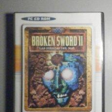 Videojuegos y Consolas: JUEGO PC - CD - ROM - BROKEN SWORD II - LAS FUERZAS DEL MAL - 2 DISCOS. Lote 277117918