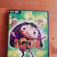 Videojuegos y Consolas: IGOR. THE GAME. Lote 277182938