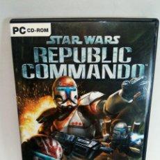 Videojuegos y Consolas: STAR WARS REPUBLIC COMMANDO JUEGO DE PC PAL DE LUCASARTS. Lote 277646528