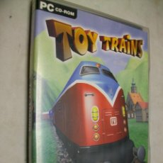 Videojuegos y Consolas: TOY TRAINS JUEGO FERROVIARIO PARA PC. Lote 278186103