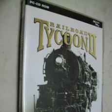 Videojuegos y Consolas: RAILROAD TYCOON II JUEGO FERROVIARIO PARA PC. Lote 278186343