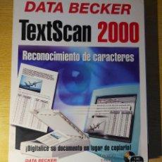Videojuegos y Consolas: TEXTSCAN 2000 - DATA BECKER SOFTWARE PC. Lote 278569138