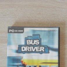 Videojuegos y Consolas: BUS DRIVER-PC CD ROM-SCS SOFTWARE-AÑO 2008.. Lote 278570488