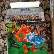 Videojuegos y Consolas: SOLO CAJA JUEGO SEGA GAME GEAR CHUCH ROCK. Lote 278571873
