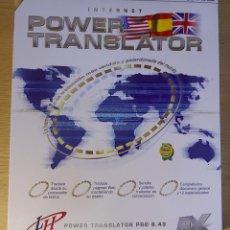 Videojuegos y Consolas: L&H POWER TRANSLATOR 6.43 - SOFTWARE PC. Lote 278571983