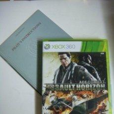 Videojuegos y Consolas: VIDEO JUEGO XBOX 360 ACE COMBAT ASSAULT HORIZON LIMITED EDITION CON SU LIBRILLO-(&). Lote 279465178