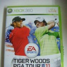 Videojuegos y Consolas: VIDEO JUEGO XBOX 360 TIGER WOODS PGA TOUR 11 -(&). Lote 279467133