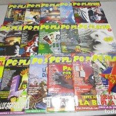 Videojuegos y Consolas: LOTE 16 REVISTAS INFORMATICA VINTAGE PC TOP PLAYER AÑOS 1995-96. Lote 279468118
