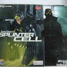 Videojuegos y Consolas: VIDEO JUEGO TOM CLANEY'S--SPLINTER CELL 3 DISCOS Y SU LIBRILLO.-(&). Lote 279468778
