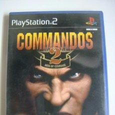Videojuegos y Consolas: VIDEO JUEGO PLAYSTATION2--COMMANDOS 2 MEN OF COURAGE -(&). Lote 279468998