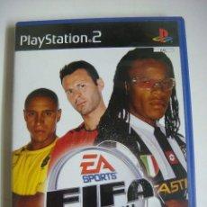 Videojuegos y Consolas: VIDEO JUEGO PLAYSTATION2--EA SPORTS FIFA FOOTBALL 2003 CON SU LIBRILLO.-(&). Lote 279469273
