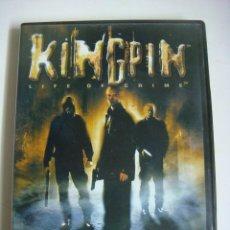 Videojuegos y Consolas: VIDEO JUEGO KINGPIN LIFE OF CRIME CON SU LIBRILLO -(&). Lote 279469663