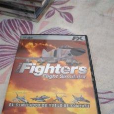 Videojuegos y Consolas: G-87 PC CDROM PC FIGHTERS FLIGHT SIMULATOR. Lote 279587533