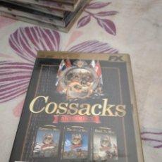 Videojuegos y Consolas: G-87 PC CDROM COSSACKS ANTHOLOGY. Lote 279588143
