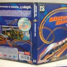 Videojuegos y Consolas: ULTIMATE RIDE JUEGO PARA PC DE DISNEY IMAGINEERING GRAN SIMULADOR MONTAÑA RUSA. Lote 279590678