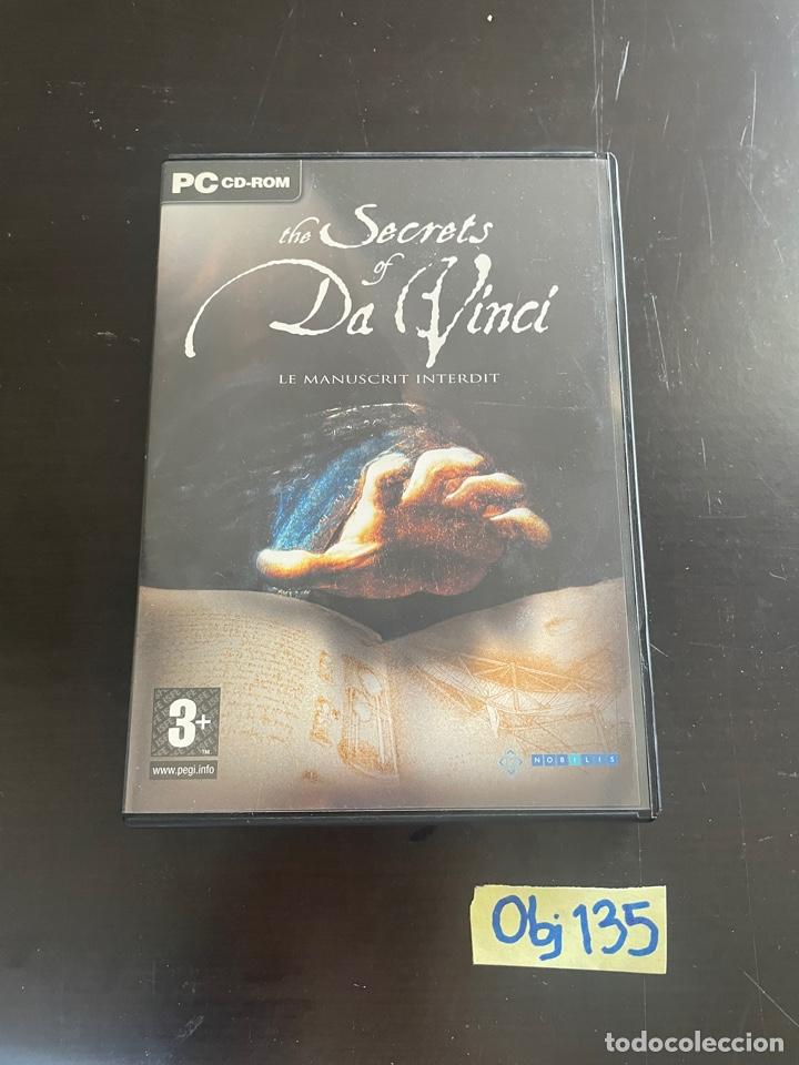 THE SECRETS OF DA VINCI (Juguetes - Videojuegos y Consolas - PC)