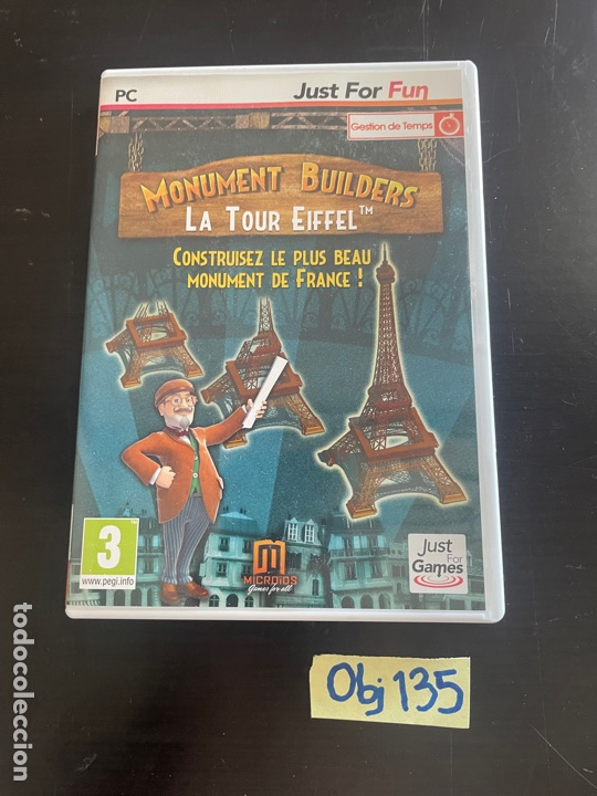 MONUMENT BUILDERS - LA TORRE EIFFEL (Juguetes - Videojuegos y Consolas - PC)