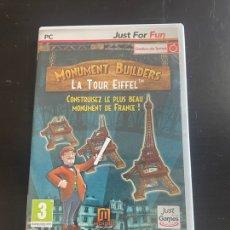 Videojuegos y Consolas: MONUMENT BUILDERS - LA TORRE EIFFEL. Lote 280880308