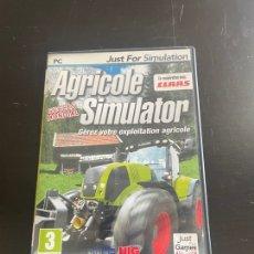 Videojuegos y Consolas: AGRICOLE SIMULATOR. Lote 280880903