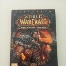 Videojuegos y Consolas: WORLD OF WARCRAFT WARLORDS OF DRAENOR BLIZZARD PC. Lote 283386568