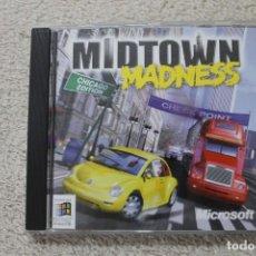 Videojuegos y Consolas: MIDTOWN MADNESS CHICAGO EDITION JUEGO PC 1999. Lote 283823313