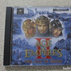 Videojuegos y Consolas: AGE OF EMPIRES II THE AGE OF KINGS JUEGO PC 1999. Lote 283826883