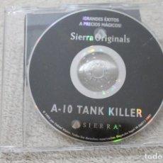 Videojuegos y Consolas: A-10 TANK KILLER SIERRA ORIGINALS 1995. Lote 284172203
