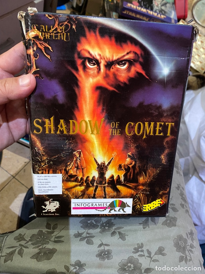 JUEGO DE PC SHADOW OF THE COMET ERBE (Juguetes - Videojuegos y Consolas - PC)