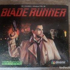 Jeux Vidéo et Consoles: BLADE RUNNER JUEGO PC CD-ROM CIENCIA FICCIÓN JUEGO PC. Lote 287568348