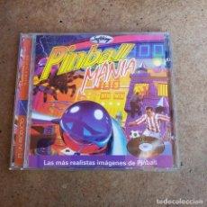 Videojuegos y Consolas: CD ROM PARA PC PIN BALL MANÍA. Lote 287984688