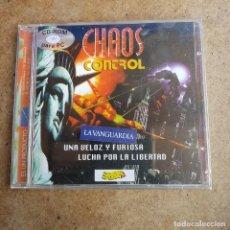 Videojuegos y Consolas: CD ROM PARA PC CHAOS CONTROL PRECINTADO. Lote 287991298