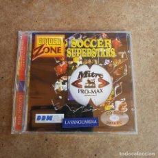 Videojuegos y Consolas: CD ROM PARA PC SOCCER SUPERSTARS PRECINTADO. Lote 287993903