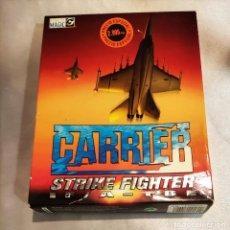 Videojuegos y Consolas: CARRIER STRIKE FIGTHER JUEGO PC CAJA GRANDE F/A 18E. Lote 288077233