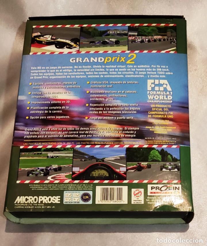 Videojuegos y Consolas: GRAND PRIX 2 Juego PC Caja Grande -- SOLO CAJA E INSTRUCCIONES! - Foto 3 - 288077693