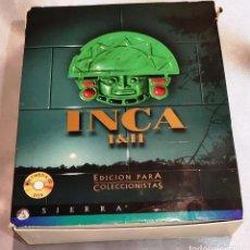 Videojuegos y Consolas: JUEGO PC INCA I Y II EDICCION PARA COLECCIONISTAS - SIERRA. Lote 288083533