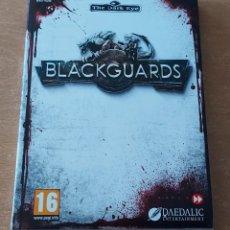 Videojuegos y Consolas: BLACKGUARDS PC PAL ESPAÑA EDICION LIMITADA CON CD BSO DAEDALIC. Lote 288091603