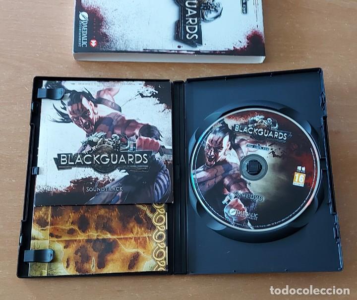 Videojuegos y Consolas: BLACKGUARDS PC PAL ESPAÑA EDICION LIMITADA CON CD BSO DAEDALIC - Foto 3 - 288091603