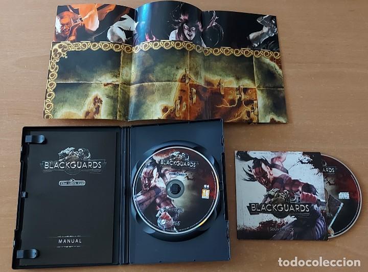 Videojuegos y Consolas: BLACKGUARDS PC PAL ESPAÑA EDICION LIMITADA CON CD BSO DAEDALIC - Foto 4 - 288091603