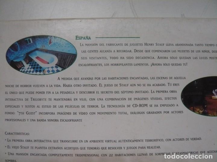 Videojuegos y Consolas: THE 7TH GUEST - AVENTURA GRÁFICA / IBM PC / RETRO VINTAGE / Diskettes - Foto 3 - 288145008