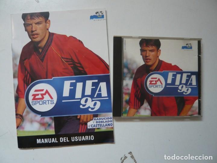 Videojuegos y Consolas: FIFA 99 - MORIENTES / IBM PC / RETRO VINTAGE / Diskettes - Foto 3 - 288150598