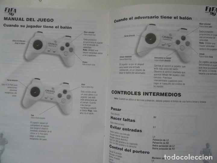 Videojuegos y Consolas: FIFA 99 - MORIENTES / IBM PC / RETRO VINTAGE / Diskettes - Foto 4 - 288150598
