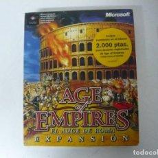Videojuegos y Consolas: AGE OF EMPIRES - EL AUGE DE ROMA / IBM PC / RETRO VINTAGE / DISKETTES. Lote 288151808