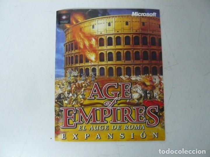 Videojuegos y Consolas: AGE OF EMPIRES - EL AUGE DE ROMA / IBM PC / RETRO VINTAGE / Diskettes - Foto 5 - 288151808